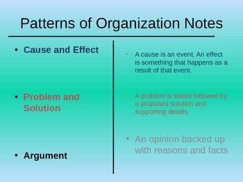 Organizational Patterns PowerPoint