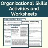 Executive Function Activities & Worksheets: Organizational Skills