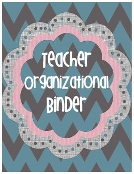 Organizational Teacher Binder - Whimsical Woodland Birds