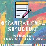 Organizational Text English 1 TEK 1.7Dii Google Docs for G
