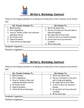 Young Writers Notebook Organizational Tools