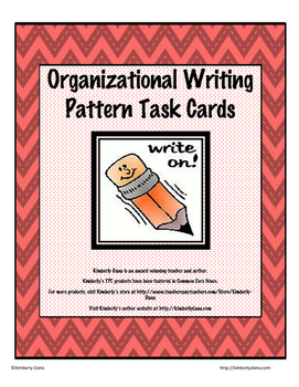 Organizational Writing Patterns Teach and Reach Bundle