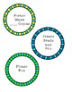 Organizational clip circles