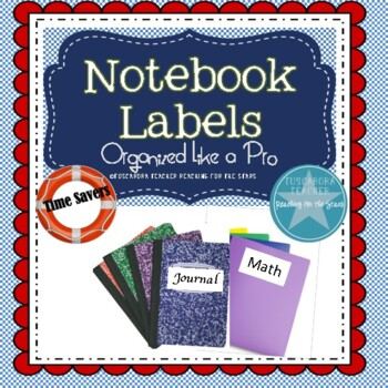 Organize Students in Style with Notebook Labels