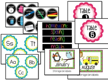 Organize Your Classroom with Labels