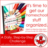 Organize Your Homeschool in 20(ish) Days