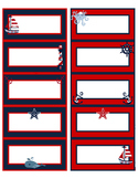 Organize Your Life: NAUTICAL & ANCHOR Labels