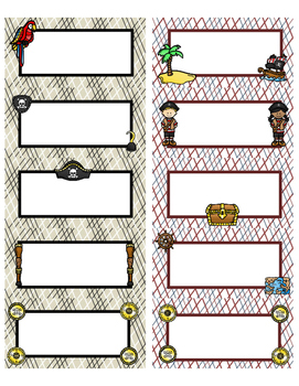 Organize Your Life: PIRATE Labels