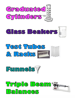 Organize Your Science Lab Bundle