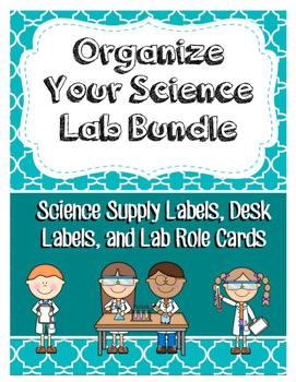 Organize Your Science Lab Bundle