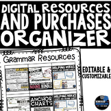 Organize Your TPT Purchases, files, clipart, borders, and