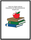 New teacher, SPED, special education organizer, IEP goals, assessment, templates