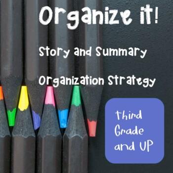 Organize that story