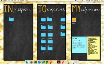 Organize the Chaos - Desktop Background