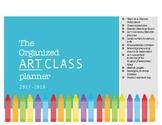 Art Teacher Planner or Binder - Organize your upcoming yea