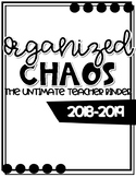 Organized Chaos Teacher Binder
