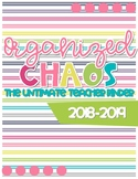 Organized Chaos Teacher Binder: Bright Colors