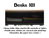 Organized Desk Poster