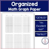 Organized Math Graph Paper