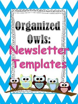 Organized Owls: Chevron Newsletters