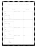 Organized Parent Communication Log Polka Dots