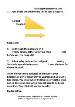 Organized Student Handbook