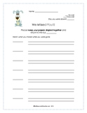 Classroom Management - Absent Student Work
