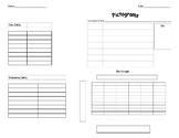 Organizing Data/Graphing Worksheet