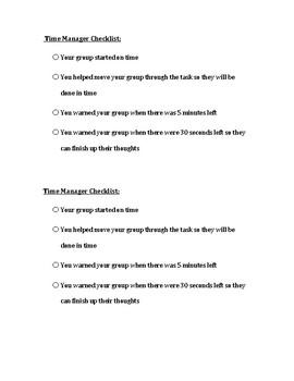 Organizing Group Work