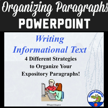 Organizing Paragraphs PowerPoint