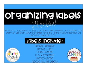 Organizing Labels for Helpers