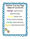 Organizing Literature Circles (Colorful and Simple)