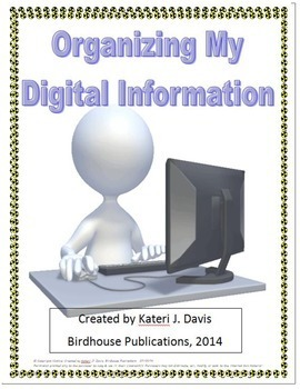 Organizing My Digital Information - User Names, Passwords, & Computer Accounts