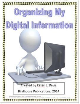 Organizing My Digital Information - User Names, Passwords,