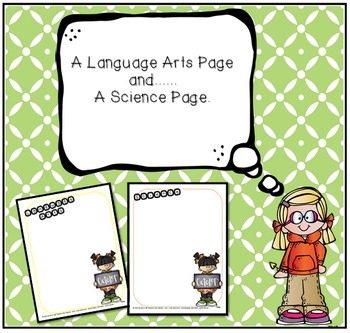 Monthly Pages To Organize Teaching Materials