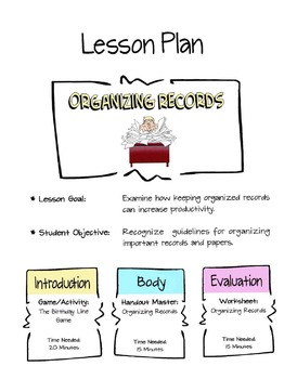 Organizing Personal Records Lesson