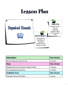 Organizing Personal Records & Papers Lesson