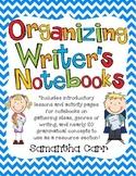 Organizing Writer's Notebooks!
