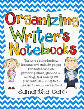 Organizing Writer's Notebooks!
