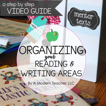 Organizing Your Reading and Writing Areas : A Step by Step