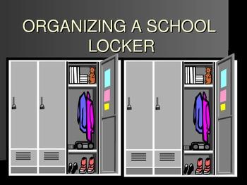 Organizing Your School Locker