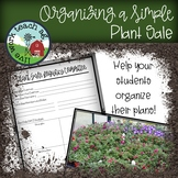 Organizing a Simple Plant Sale (for Ag Ed, FFA, Science Classes)