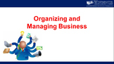 Organizing and Managing Business LECTURE AND TUTORIAL MATERIALS