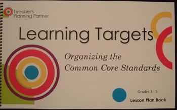 Organizing the Common Core Standards - Grades 3-5 Lesson Plan Book