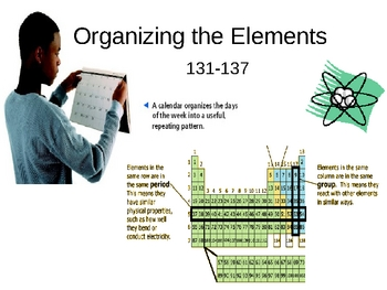 Organizing the Elements PowerPoint Presentation