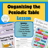 Organizing the Periodic Table Lesson