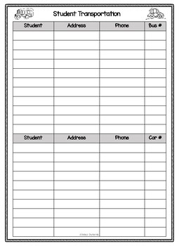 Organzation Forms