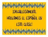 Orgullosamente Bilingue: 3 posters (Proudly Bilingual)