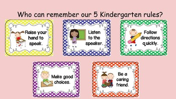 Orientation For the Kindergarten Kids