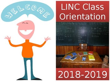 Orientation PowerPoint for New LINC/ESL Classes and Students